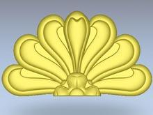 element 3D dekoracyjny sztukaterii elewacyjnej