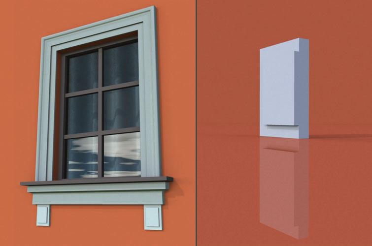 wzór 3 profilu fasadowego konsoli
