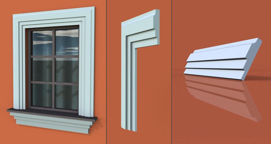 wzór 2 profilu fasadowego opaski