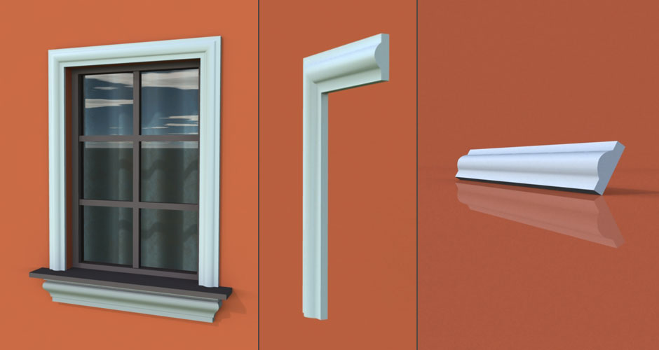 wzór 3 profilu fasadowego opaski