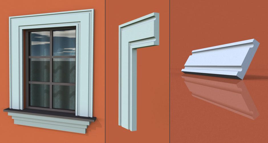wzór 4 profilu fasadowego opaski
