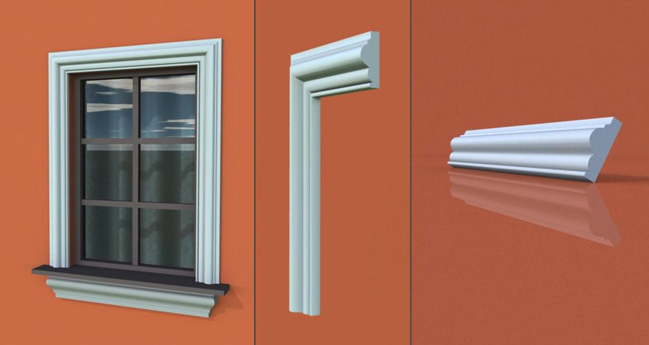 wzór 5 profilu fasadowego opaski