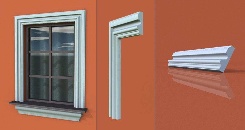 wzór 6 profilu fasadowego opaski