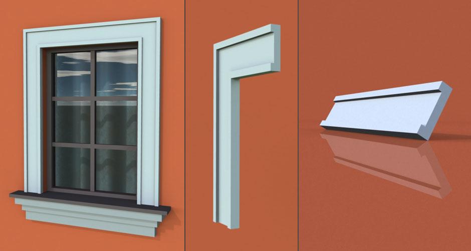 wzór 7 profilu fasadowego opaski
