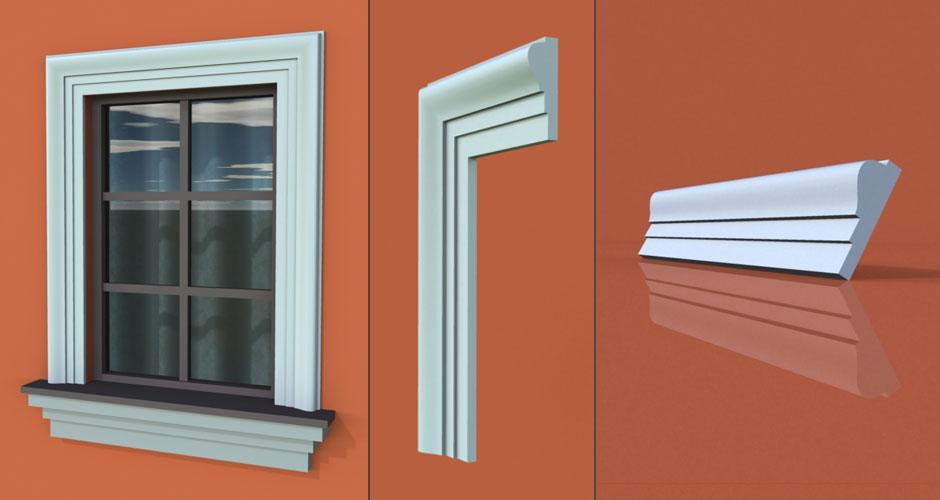 wzór 9 profilu fasadowego opaski