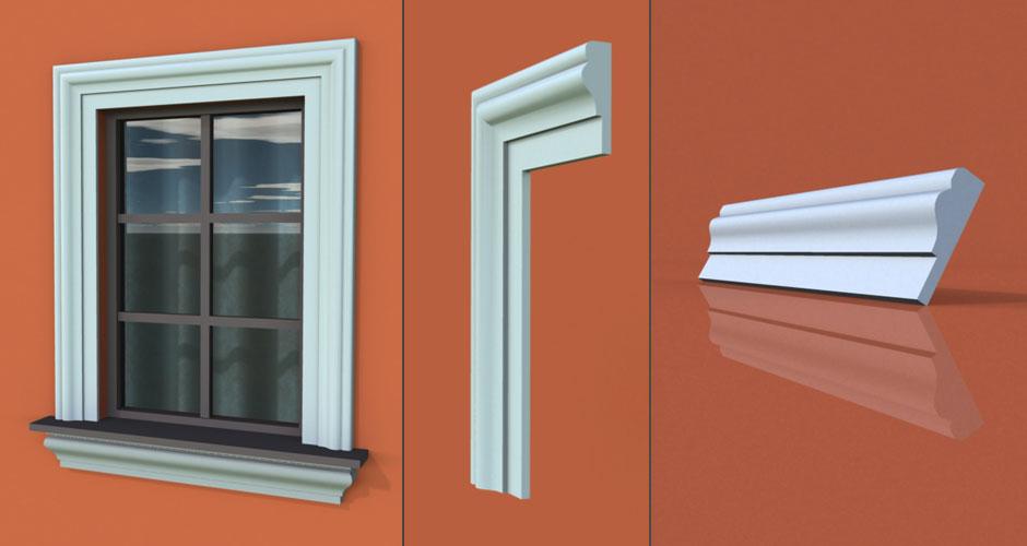 wzór 10 profilu fasadowego opaski