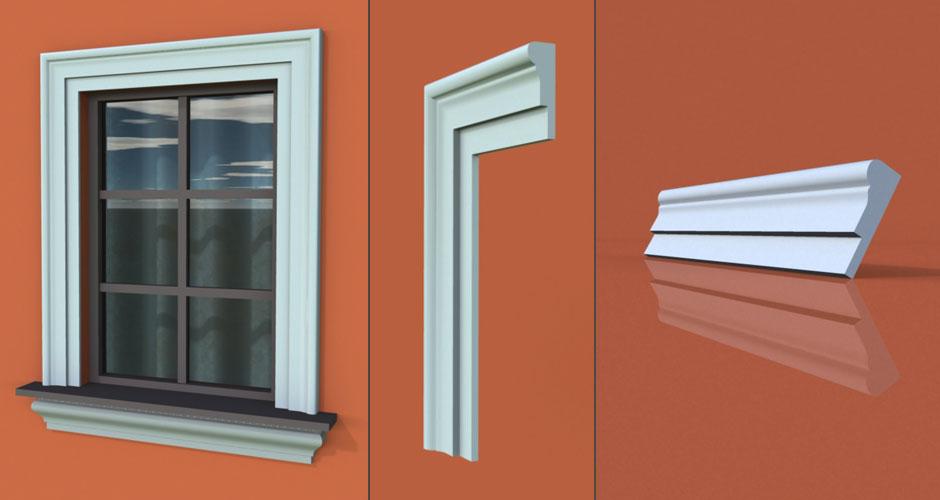 wzór 11 profilu fasadowego opaski