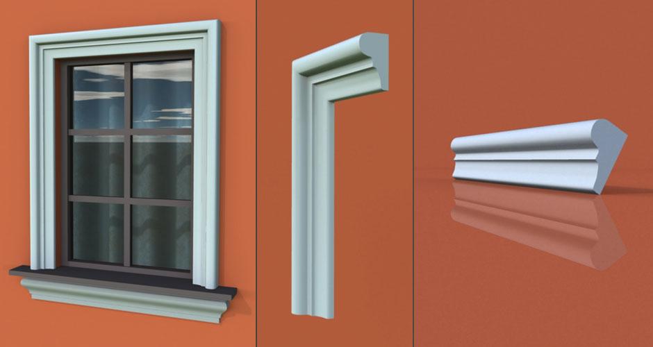 wzór 12 profilu fasadowego opaski