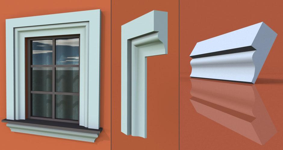 wzór 14 profilu fasadowego opaski