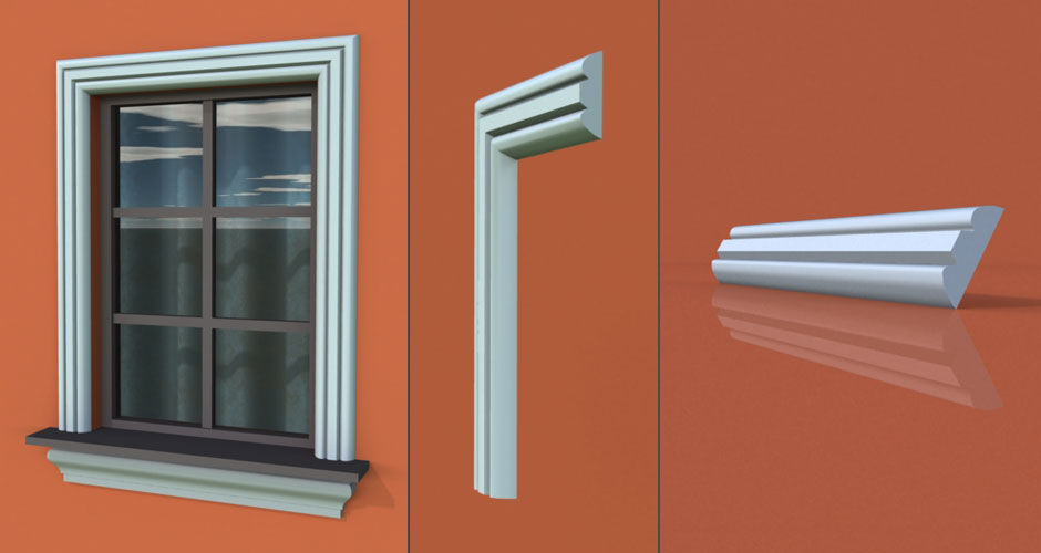 wzór 15 profilu fasadowego opaski