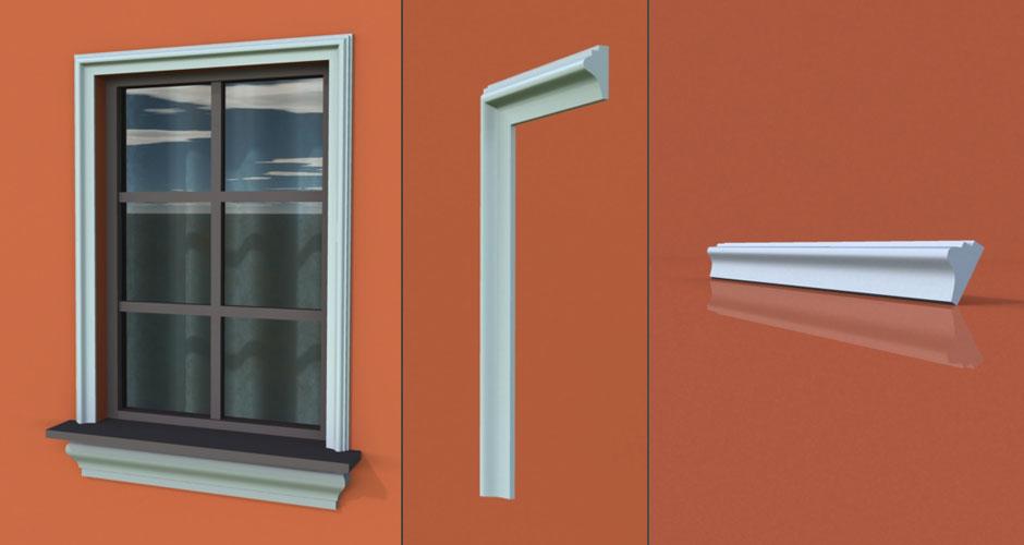 wzór 16 profilu fasadowego opaski