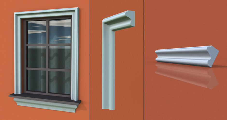 wzór 17 profilu fasadowego opaski