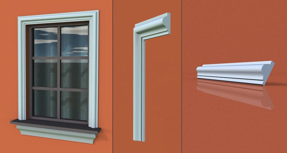 wzór 18 profilu fasadowego opaski