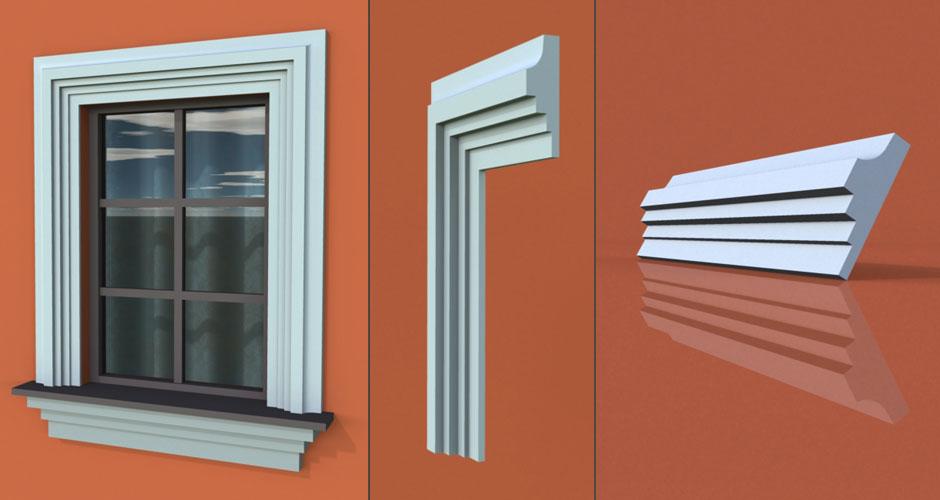 wzór 19 profilu fasadowego opaski