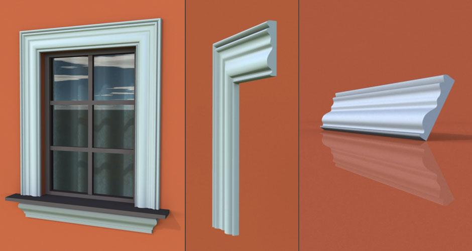 wzór 20 profilu fasadowego opaski