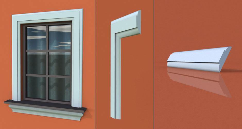 wzór 21 profilu fasadowego opaski