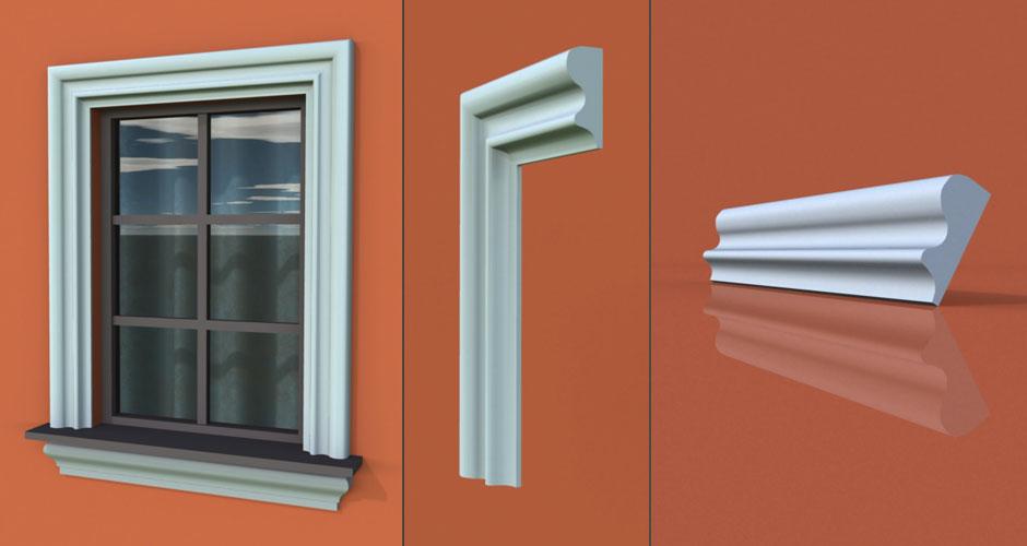 wzór 22 profilu fasadowego opaski