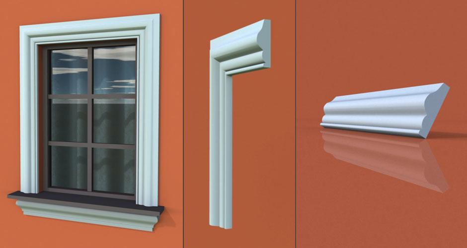 wzór 23 profilu fasadowego opaski