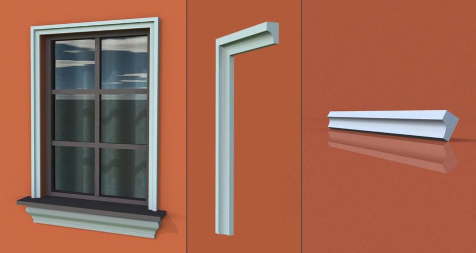 wzór 24 profilu fasadowego opaski