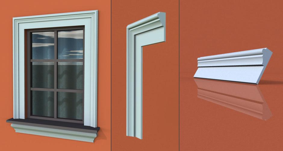 wzór 25 profilu fasadowego opaski