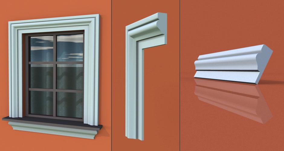 wzór 28 profilu fasadowego opaski