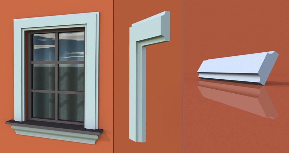 wzór 29 profilu fasadowego opaski