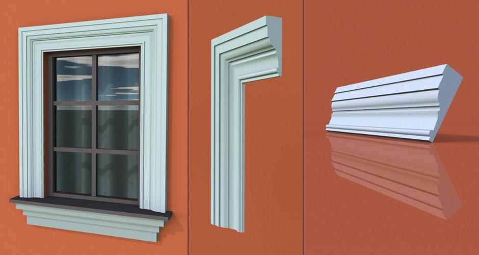 wzór 30 profilu fasadowego opaski