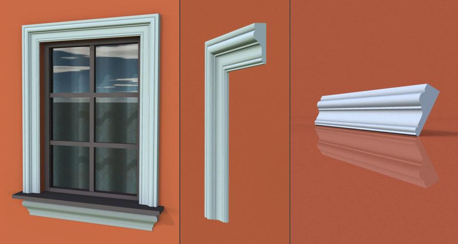 wzór 31 profilu fasadowego opaski