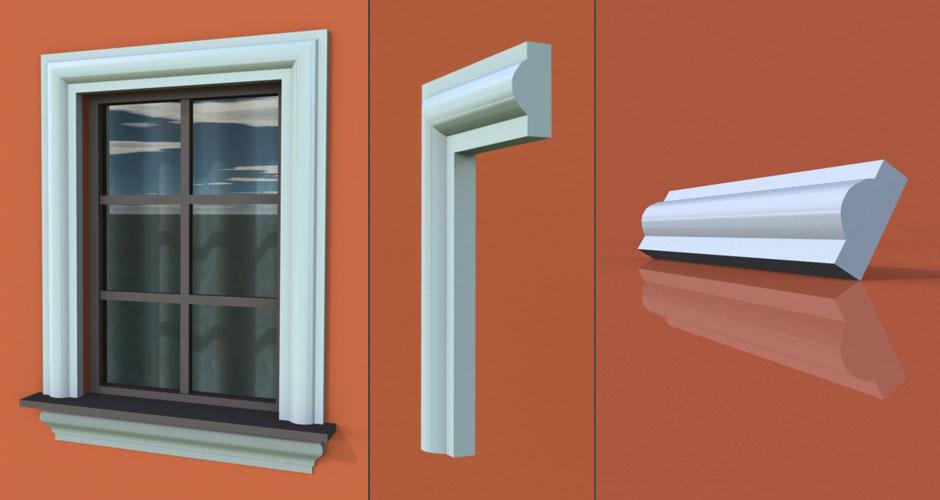 wzór 32 profilu fasadowego opaski