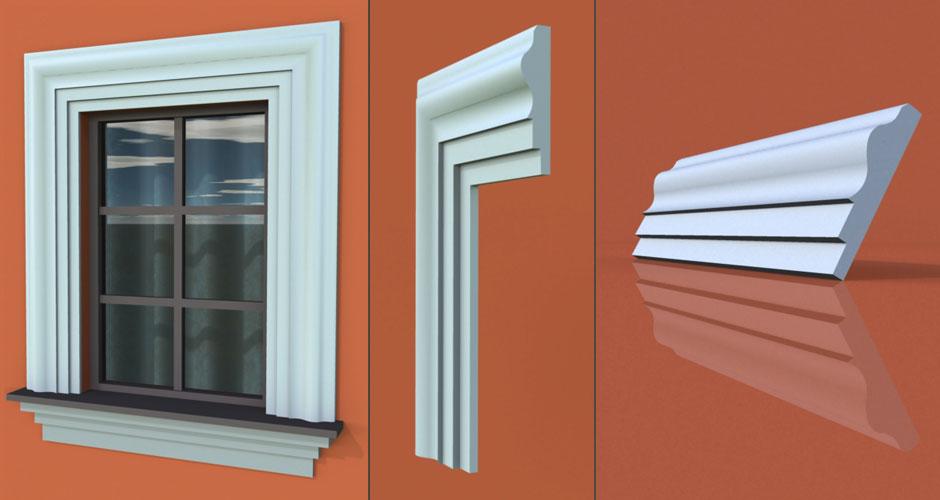 wzór 33 profilu fasadowego opaski