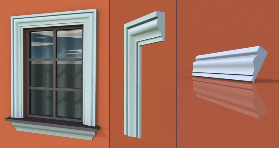 wzór 34 profilu fasadowego opaski