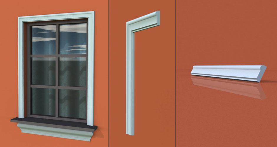 wzór 35 profilu fasadowego opaski