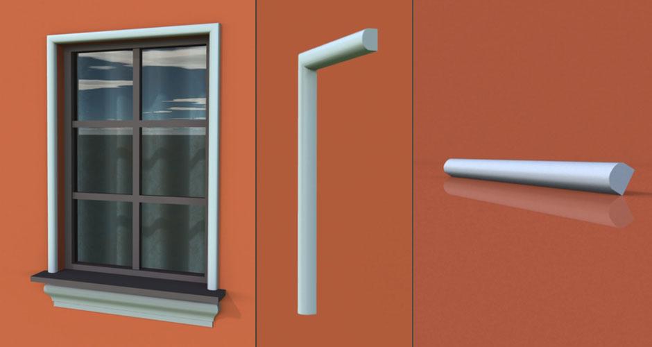 wzór 36 profilu fasadowego opaski
