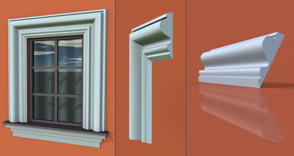 wzór 37 profilu fasadowego opaski
