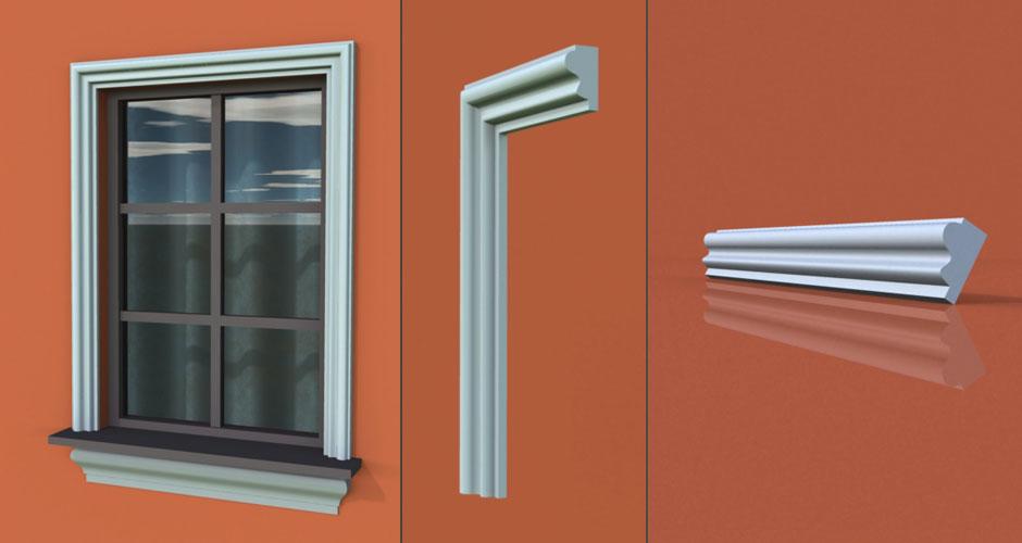 wzór 38 profilu fasadowego opaski