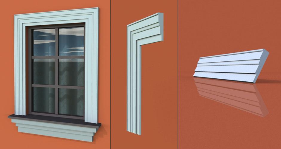 wzór 39 profilu fasadowego opaski