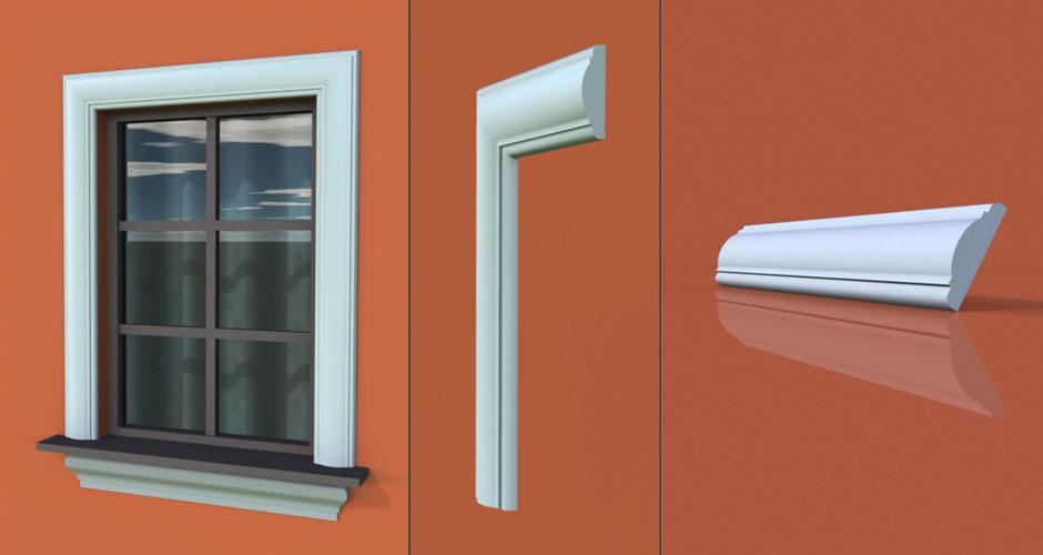 wzór 40 profilu fasadowego opaski
