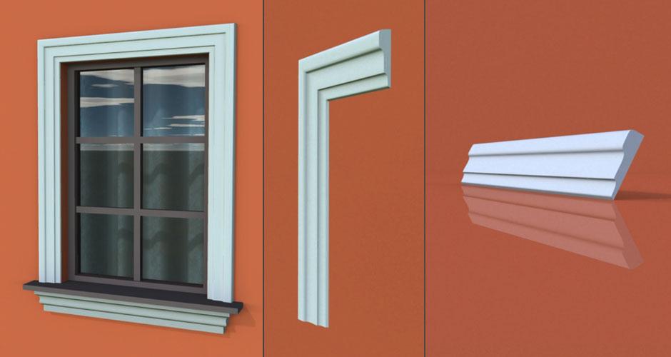 wzór 41 profilu fasadowego opaski