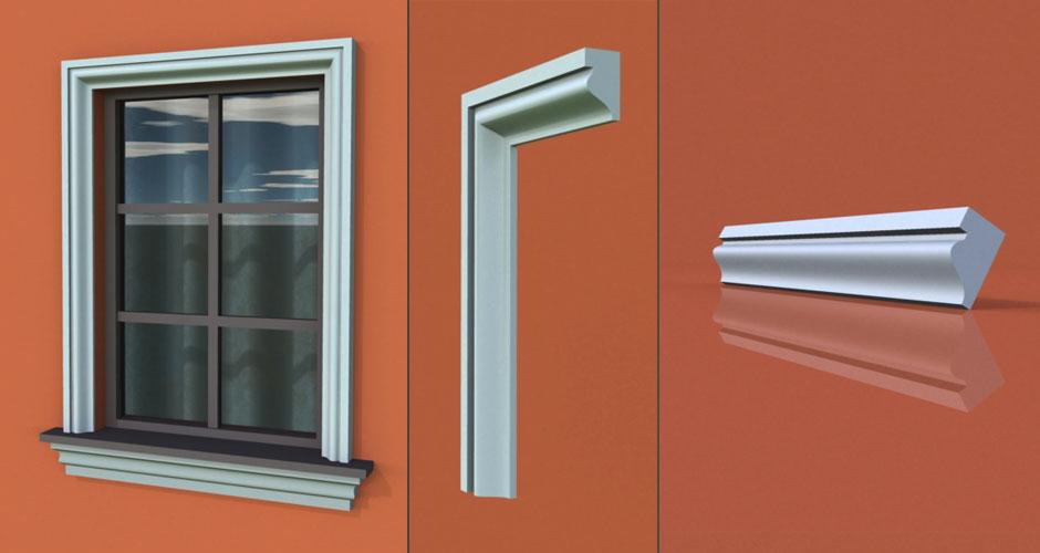 wzór 42 profilu fasadowego opaski