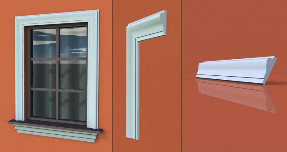 wzór 50 profilu fasadowego opaski