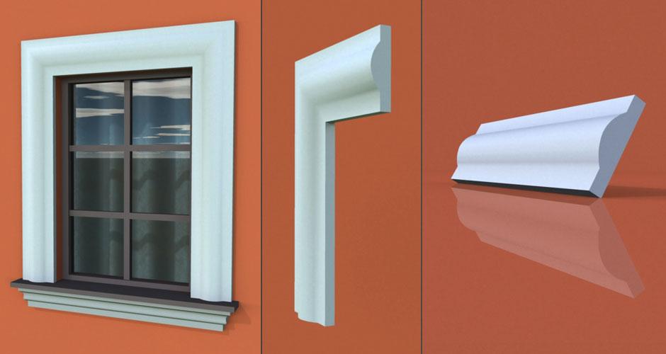 wzór 51 profilu fasadowego opaski