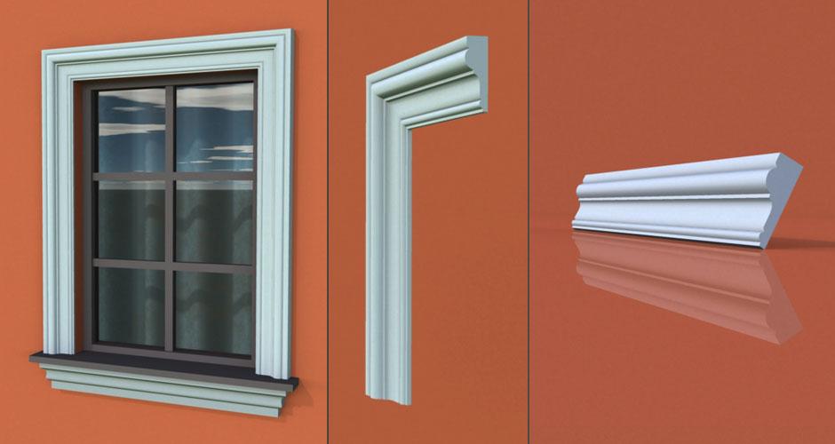 wzór 53 profilu fasadowego opaski
