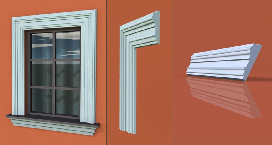 wzór 54 profilu fasadowego opaski
