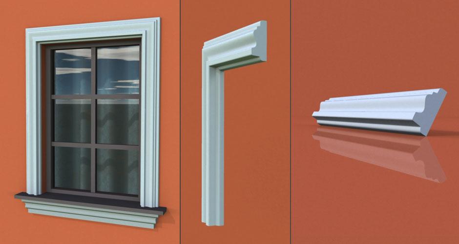 wzór 55 profilu fasadowego opaski