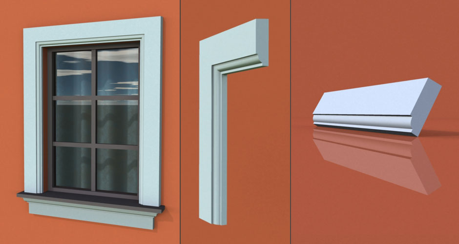 wzór 56 profilu fasadowego opaski