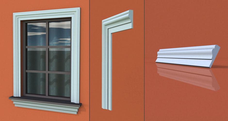 wzór 58 profilu fasadowego opaski
