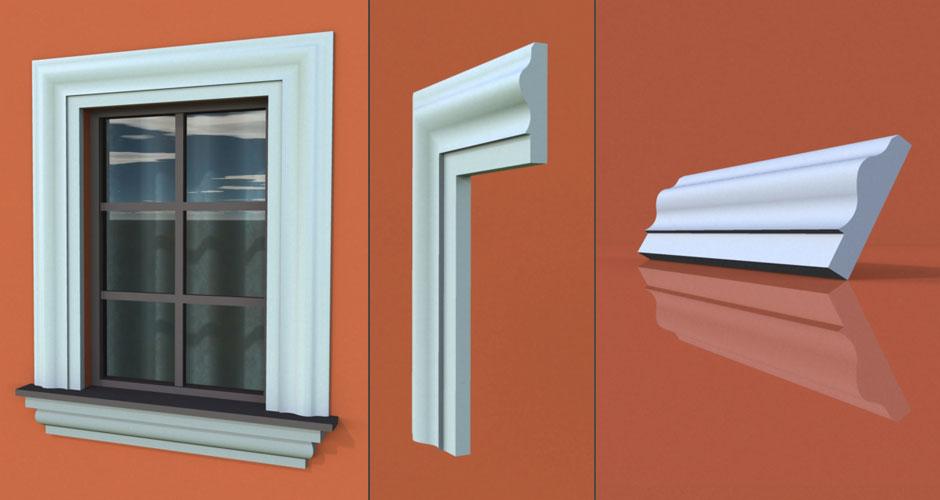wzór 59 profilu fasadowego opaski