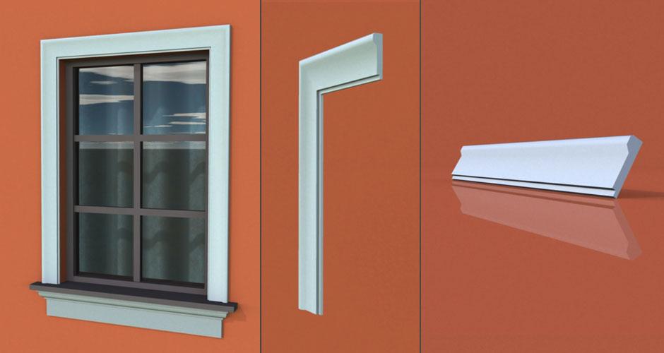 wzór 60 profilu fasadowego opaski
