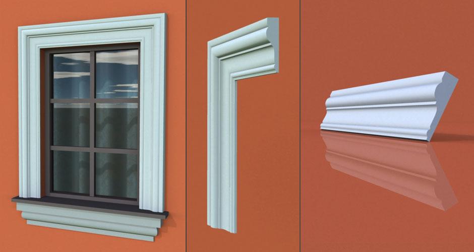 wzór 61 profilu fasadowego opaski