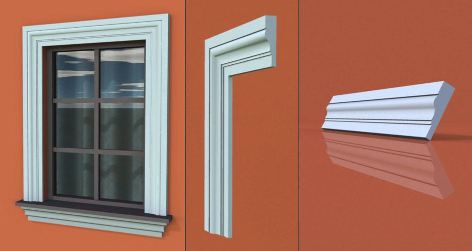 wzór 64 profilu fasadowego opaski